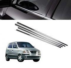 After Cars Hyundai Santro Xing GL Car Window Lower Chrome Garnish