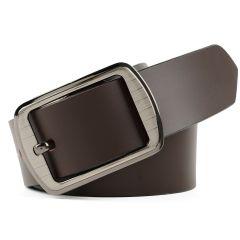 Winsome Deal Brown Leather Formal Belt For Men's