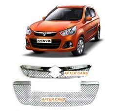 After Cars Maruti Suzuki Alto k10 Front Car Grill Cover with Free car Bluetooth