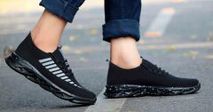 Stylish IAddicted Upper Slip-on Sneakers Shoes For Mens