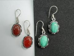 Astrogemindia Natural Gemstone 92.5 Silver Sterling Earring Jewelry For Women & Girls