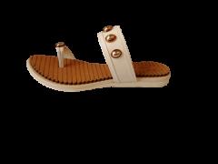 Footshine Women's Fashion & Stylish Pad Slipper (Coffee)