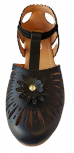 Bantu Women's Fashion & Stylish Casual Sandal (Black)