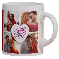 Smileyo Personalized Coffee Mug with Photo and Name (325 ML)