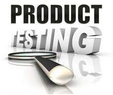 Testing product