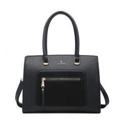 Women's Stylish & Fashionable COCO BOAT & TOTE HANDBAG C.B.51-BLACK
