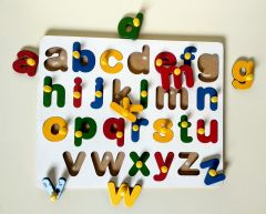 Small Alphabet Puzzle for Learning Kids (Pack Of 1)