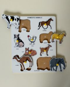 Domestic Animal Puzzle For Kids (Pack Of 1)