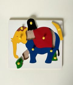 Elephant Puzzle for Learning Kids (Pack Of 1)