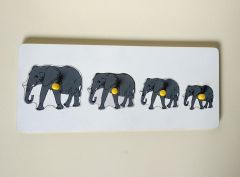 Elephant Seriation Board for Learning Kids (Pack Of 1)