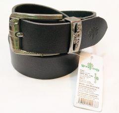 Stylish With New Look Woodland Leather Belt (Free Size) (Black)
