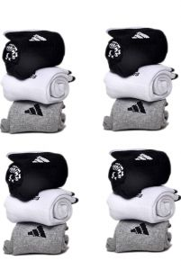 Men's Stylish Includes 6 Pairs of Socks | Size: UK 7 to 10 (Pack of 12)