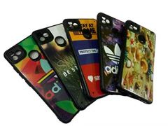 Soft 3D Printed Mobile Back Cover For Itel Vision 1 Mobiles Case and Covers (Multi-Color) (Pack of 1)