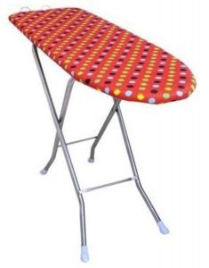 PALOMINO Foldable & Height Adjustable Iron Table Stand (Multi-Color) (Pack of 1)