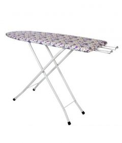PALOMINO Foldable & Height Adjustable Printed Ironing Table Stand (Multi-Color) (Pack of 1)