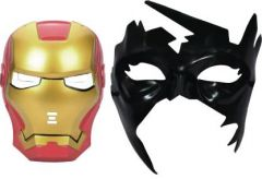 PTCMART Ironman And Krish Shape Design Face Mask Party Mask  (Multicolor, Pack of 2)