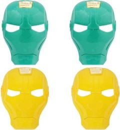 PTCMART Ironman Shape Stylish Mask for kids Party Mask(Multicolor, Pack of 4)