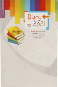Toss 2021 A5 Diary Ruled 365 Pages (J-105) (Pack OF 1)