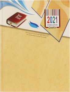 Toss 2021 B5 Diary Ruled 330 Pages For Offical, Personal Uses (J-123) (Pack OF 1)