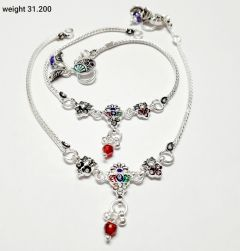 Exclusive Vj Sterling Silver Partywear Anklets