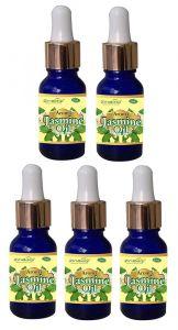 Zindagi Jasmine Oil-100% Natural & Pure Jasmine Flower Aroma Oil (Pack of 5) (15 ml Each)