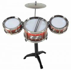 Indoor Manual Jazz Drum For Kids Boys & Girls (Pack Of 1)
