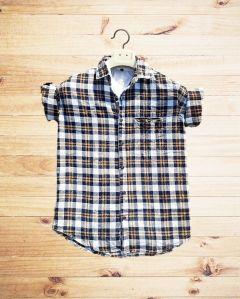 JBKFASHIONS Men's Slim Fit Checkered Casual Shirt