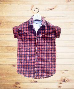 JBKFASHIONS Slim Fit Checkered Shirt For Men's