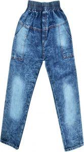 SHAURYA INNOVATION Regular Fit Solid Denim Full Jeans For Boy's (Blue) (Pack of 1)