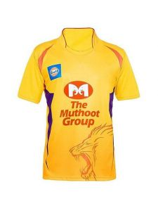 Regular Fit Polyester Printed Half Sleeve Sports T-Shirts For Men (Yellow) (Pack of 1)