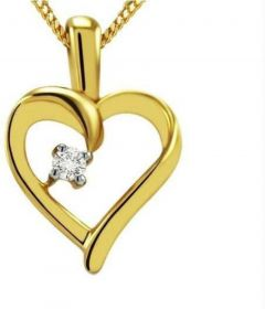 Sterling Silver Cubic Zirconia Silver Pendant | Sterling Silver Plating | Platinum Plating Chain