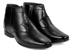 BXXY 9 cm (3.5 Inch) Height Increasing Formal And Casual Pu Leather Boots for All Ocassions