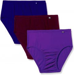 JOCKEY Solid Hipster Cotton High-Rise Panty For Women & Girls (Pack of 3)