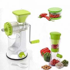 Fruit Vegetable Hand Juicer   Multi Crusher and Chilly Cutter Combo Pack of 3