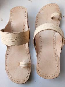 JYOTI FOOTWEAR Women's Attractive Leather Sandals