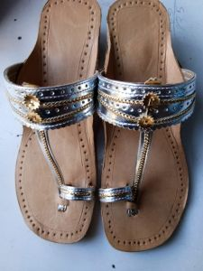 JYOTI FOOTWEAR Women's Attractive & Comfortable Leather Sandal and Slippers