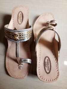 JYOTI FOOTWEAR Women's Comfortable Pure Leather Sandal & Slippers