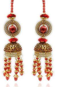 Priya Kangan Wedding Wear Punabi Kalire/kalere/Kaleera-2/Kalera/Bridal Hand Hanging/kaleera for Brides/Girls/Women