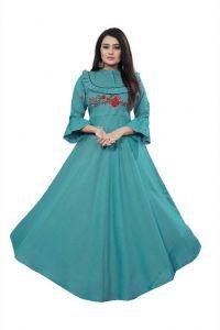 Formal Self Design Rayon Fabric Anarkali Kurta For Women  (Size- XL)