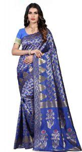 Dyed Pattern Fashionable Jacquard Fabric Saree