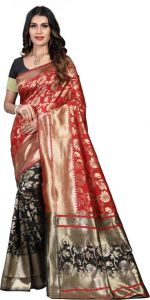 Printed Pattern Fashionable Chiffon Fabric Saree for Women