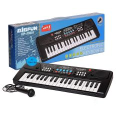 TECHTOY 37 Key Big Fun Musical Piano Electronic Keyboard Toy For Kids (Pack of 1)