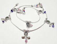 Exclusive Vj Sterling Silver Partywear Anklets (Set of 1)