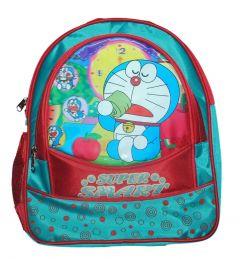 BAGO Super Smart Doraemon School Bag For Boy's & Kid's (Multi-Color) (Pack of 1)