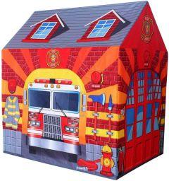 RSTrading Kismis Tent House For Unisex Kids Fire Station