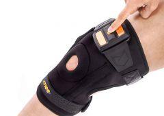 Knee Pain Relief Belt for Arthritis Joint Damage Prevention Treatment (Color:-Black)