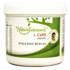 Hakeem Suleman Khan's L Care Capsule For Leucoderma, Psoriasis, Skin Allergy, Skin Disorder, Sun Burn