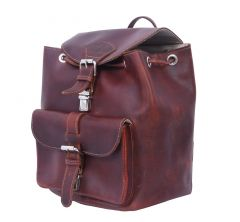 Celtic City Backpack with Extra Storage and Durable Build Quality (Leather Brown) | Pack of 1
