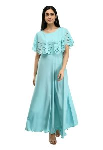 Jazbay Trending & Fashionable Full Length For Casual, Party & Wedding Maxi Dress/Gown For Women's (Pack Of 1)