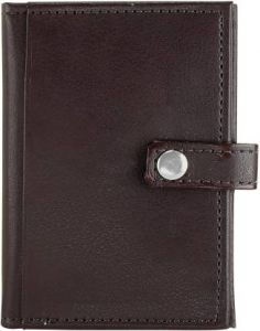 Toss 40 Card Holder  (Brown) (Pack of 1)